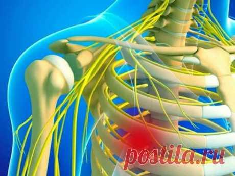 Как распознать межрёберную невралгию - Народная медицина - медиаплатформа МирТесен Сильная боль в груди не всегда связана с сердечным приступом или инфарктом миокарда. Подобные симптомы характерны для межреберной невралгии – заболевания, обусловленного воспалением или спазмом нервных окончаний между ребрами. Правильно распознать патологию помогает знание характерных признаков и