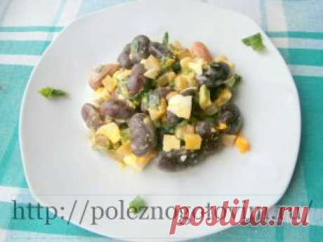 Haricot salad the recipe is a simple and tasty haricot salad. It prepares quickly during any season, it turns out nourishing and useful. An excellent dietary dish for dinner.