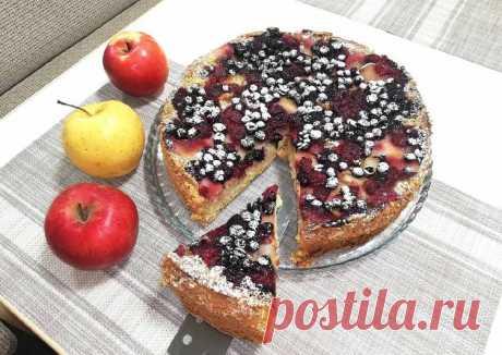 """(13) Ягодно-фруктовый пирог - пошаговый рецепт с фото. Автор рецепта """"СОЛНЫШКО""""- Хлопкова Надежда🏃♂️ . - Cookpad"""