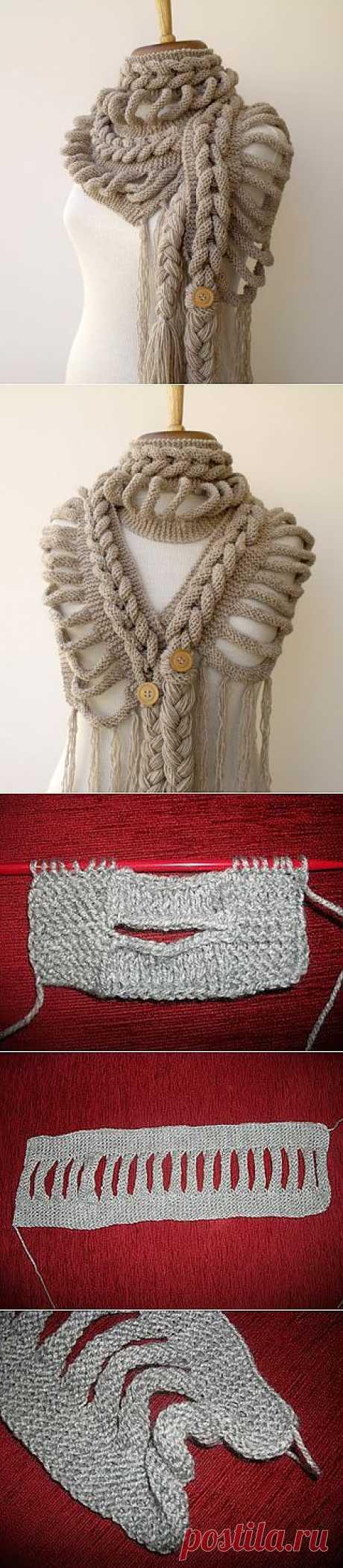 """Создавайте свои шедевры! О творческом подходе к вязанию - на примере узора """"Колосок""""."""