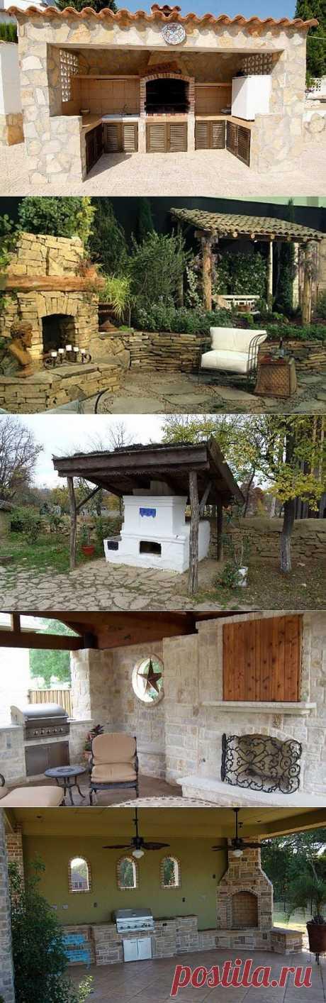 Летняя кухня (фото) | Дом Мечты