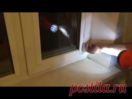 Как отрегулировать окно ПВХ если ручка не проворачивается