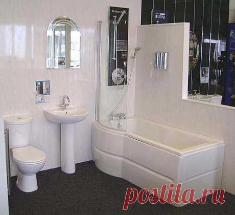 ПВХ панели для отделки ванной — Интерьер и Декор