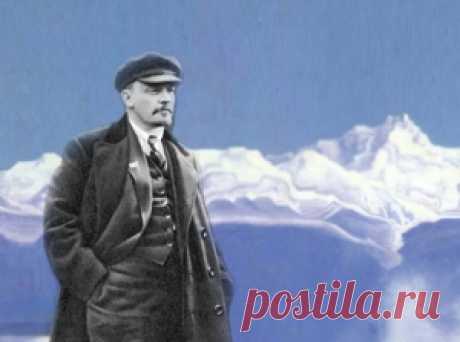 22 апреля 1870 года родился величайший гений человечества - Владимир Ильич Ленин. - Мир через культуру