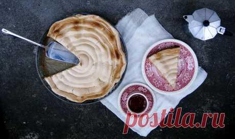Грушевый пирог с безе | Lendryggen