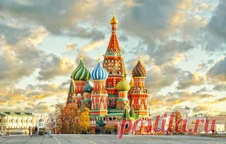 Москва золотоглавая!