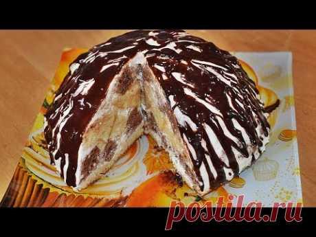 "Very tasty easy ""Кучерявый пинчер&quot cake;. Recipes for New year"