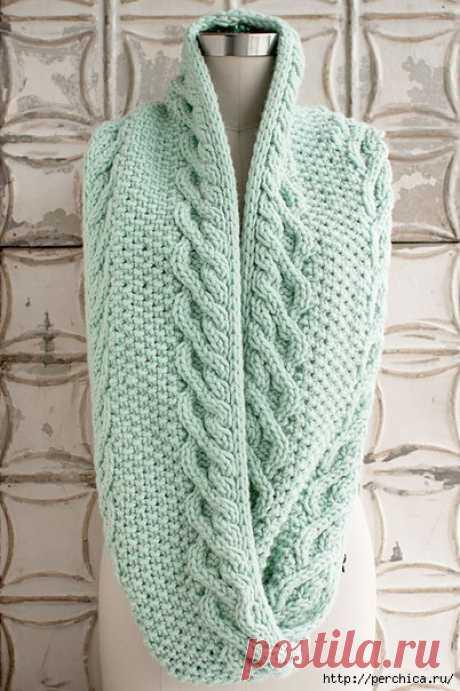 La bufanda-snud por los rayos hermoso zhgutom