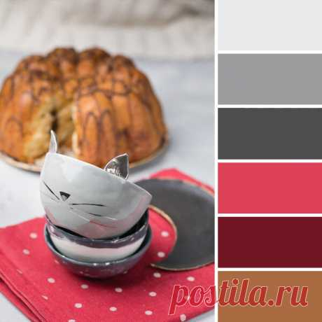 5 готовых цветовых палитр для вашего интерьера