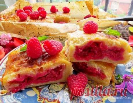 Пирог из теста фило с малиной рецепт 👌 с фото пошаговый | Едим Дома кулинарные рецепты от Юлии Высоцкой