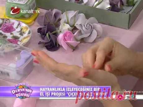 Çiçek şelale yapımı! (Derya'nın Dünyası)