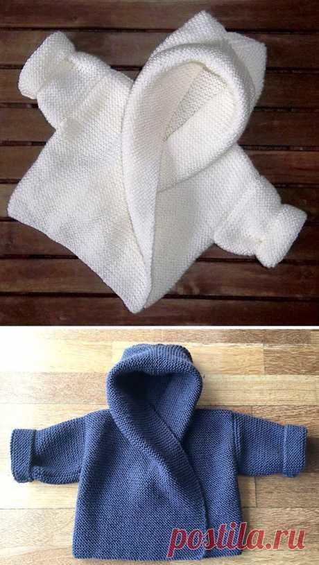 Baby Hooded Wrap Cardigan - Knitting Pattern, #Baby #Cardigan #Hooded #Knitting #Pattern #Wr... - My Knitting For Beginners Blog Baby Hooded Wrap Cardigan – Knitting Pattern, #Baby #Cardigan #Hooded #Knitting #Pattern
