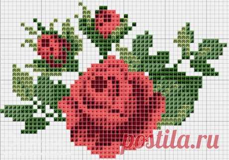 Картинки схем вышивки крестиком по клеточкам (38 фото) ⭐ Забавник