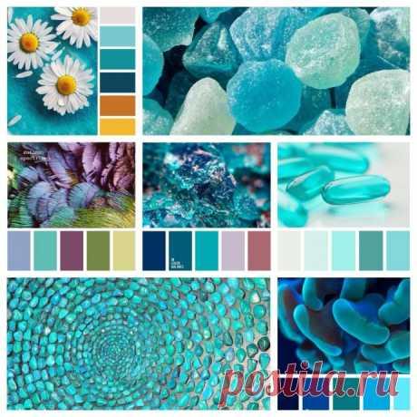 Эффектные цветовые палитры для насыщенных летних образов