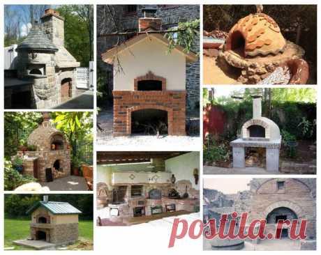 Помпейская печь: конструкция, принцип работы | 6 соток