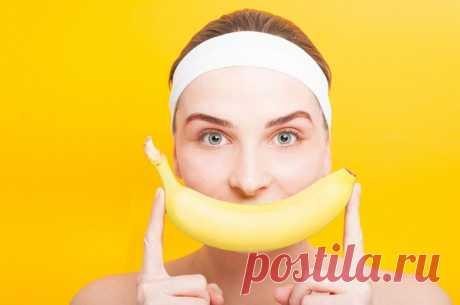 Омолаживающее действие банановых масок. Это еще и средство от морщин