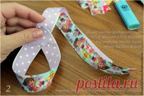 """La Clase maestra """"Boutique bows"""" (""""Американские бантики"""") - la Feria de los Maestros - la labor a mano, handmade"""