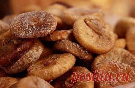Супер - полезные конфеты из сушеного инжира
