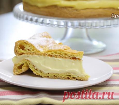 Торт Карпатка - нежный, умеренно сладкий и очень красивый торт.