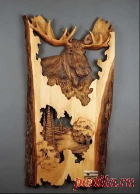 Удивительные работы из дерева. У этого мастера золотые руки и отличная фантазия!    ...