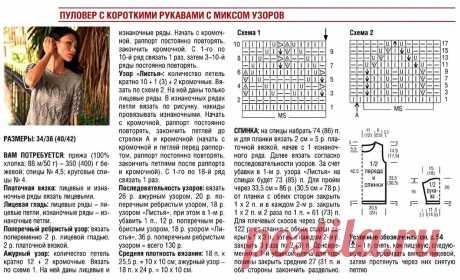 Задачи по вязанию летних кофточек, поставлены чётко! | Asha. Вязание и дизайн.🌶 | Яндекс Дзен