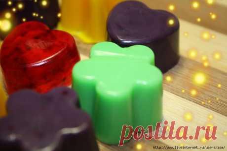 Натуральные красители для мыла ручной работы