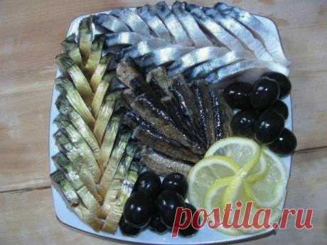 Крутые варианты подачи рыбной нарезки к праздничному столу