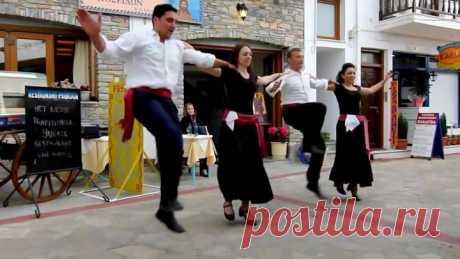 Вот он - греческий дух! «Сиртаки» в исполнении греков