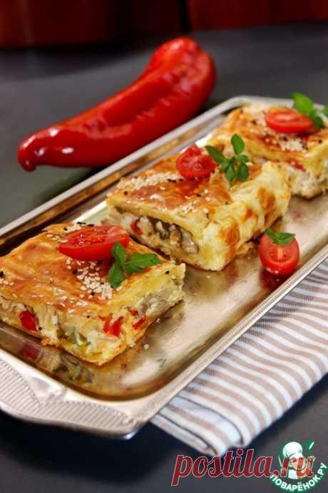 Куриный пирог-суфле (котопита сан суфле (куриный пирог как суфле))