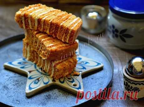 Идеальный крем для «Медовика» — рецепт с фото