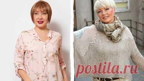 3 необычных кофты, которые лучше всего смотрятся на зрелых женщинах, а не на молодежи | Блог Oskelly | Яндекс Дзен