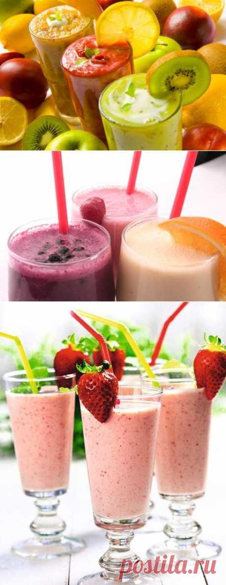 Смузи: 10 полезных рецептов   Здоровье на Клео   Kleo.ru