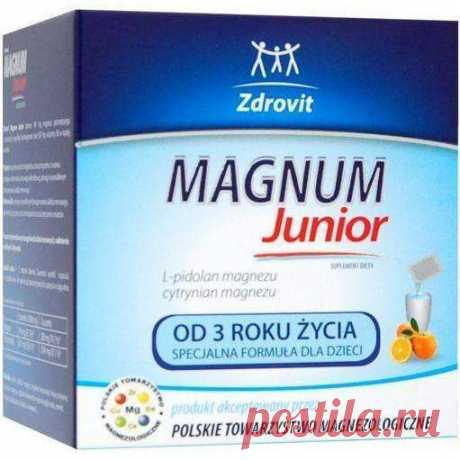 Zdrovit Magnum Junior x 20 sachets, Magnesium