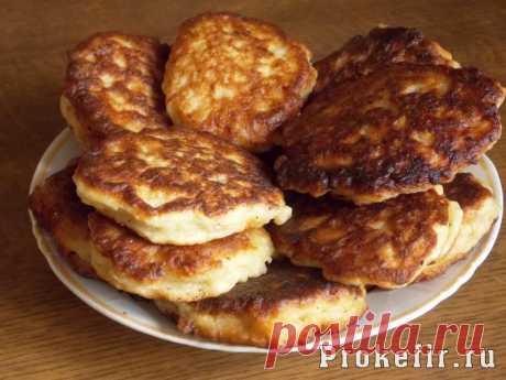 Оладьи на кефире с фаршем пышные - рецепт с фото пошагово