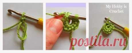 Цветочные вязание крючком
