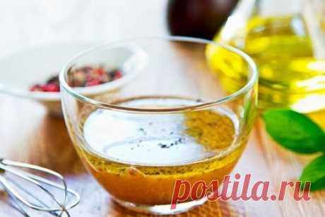 Заправка для винегрета с бальзамическим уксусом и желтками, рецепт с фото   Вкусные кулинарные рецепты