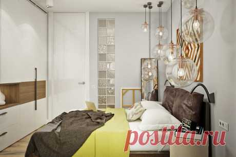Идея продуманной маленькой спальни | Ремэлль — Дизайн Ремонт Жизнь | Яндекс Дзен