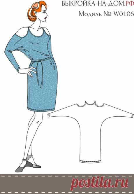 19 цельнокроеных модных выкроек для не умеющих шить! » Женский Мир