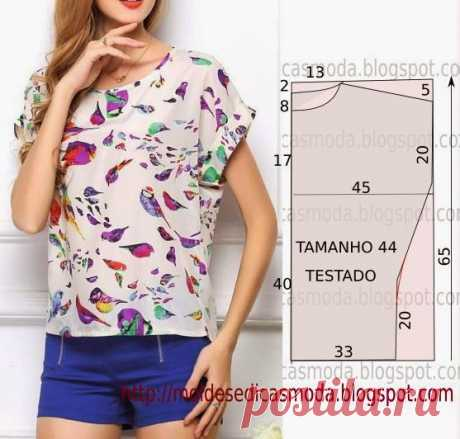DO-58 BLOUSE EASILY - Compression molds Fashion the Measure