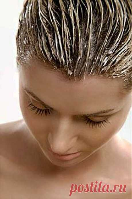 Маски от выпадения волос.