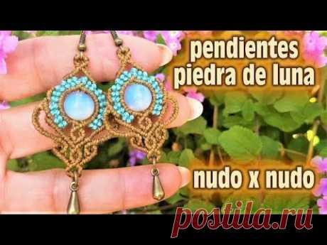 PENDIENTES PIEDRA DE LUNA