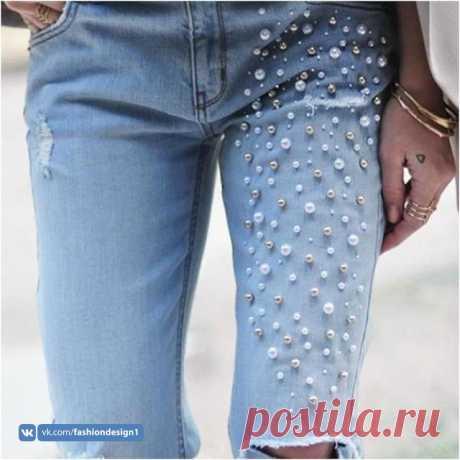 Новый вид старых джинсов: с нас идеи, с вас воплощение