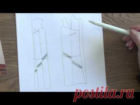 Como hacer el patrón de la pelliza de la piel por las manos