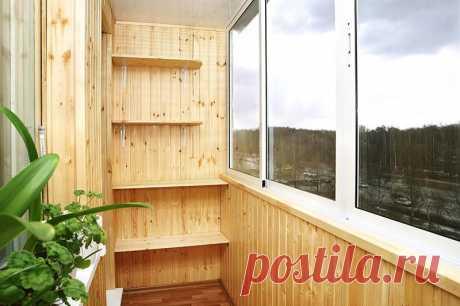 Мастер-класс по обшивке балкона вагонкой — Мой дом