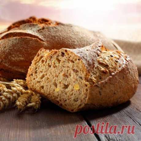 Как испечь цельнозерновой, бездрожжевой хлеб дома