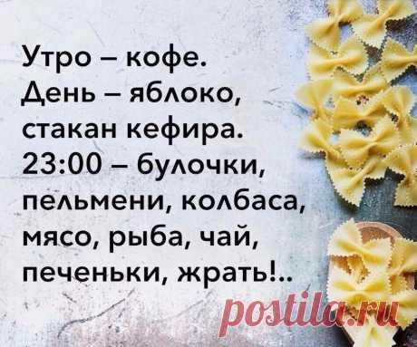 Мой, правильный рацион питания. Вот так я худею :)))  А как правильно худеть, читайте статьи о похудении на сайте Leeleo.ru, по ссылке