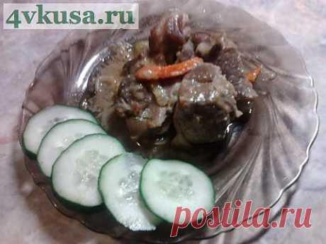 Свинина со сливами или полтергейст часть 1 | 4vkusa.ru