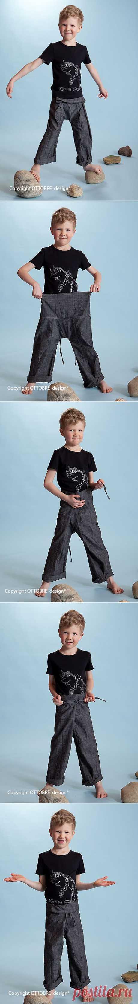 Штаны рыбака-тайца / Простые выкройки / Модный сайт о стильной переделке одежды и интерьера