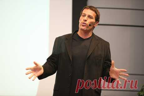 Тони Роббинс видео: 3 шага к вашим целям | Women & Startup Смотрите видео на русском языке мотивационного спикера Тони Роббинса. В выступление Тони Роббинс говори: все наши неудачи случаются из-за вашего собственного ресурсного состояния.