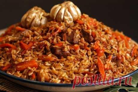 Как приготовить узбекский плов - рецепт, ингредиенты и фотографии